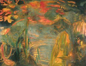 """""""Landscape"""", Oil on canvas, 120cm x 150cm, 1995"""