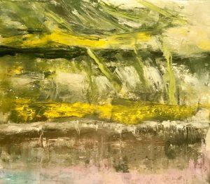 """Moral Injuries 3246"", Oil on paper, 2018"