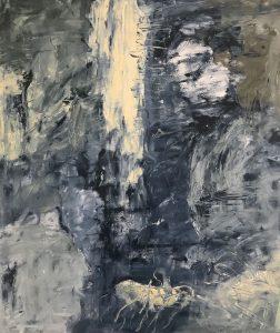 """Moral Injuries 4431"", Oil on paper, 2018"